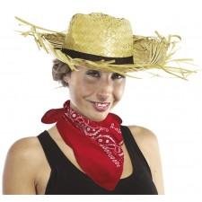 Banana rouge pour déguisement cowboy