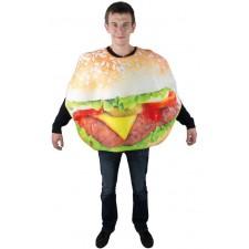 Costume hamburger pas cher pour adulte