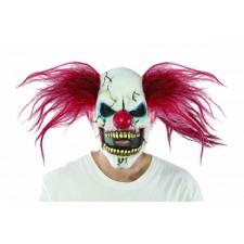 Masque de clown tueur diabolique adulte pour Halloween