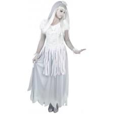 Costume femme de mariée fantôme pour Halloween