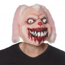 Masque lapin de serial killer en latex pour Halloween