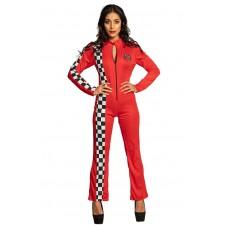 Costume pilote de F1 femme