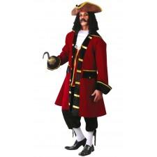 Costume de capitaine pirate luxe adulte