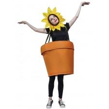 Costume de pot de fleur marrant pour adulte